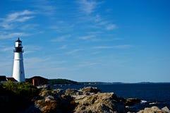Maine Coastline hermosa Imagenes de archivo