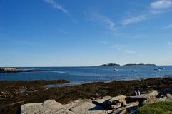 Maine Coastline hermosa Imágenes de archivo libres de regalías