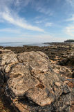 Maine coastline near Bass Harbor Stock Photos