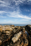 Maine coastline near Bass Harbor Royalty Free Stock Photo