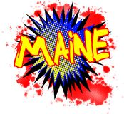 Maine Comic Exclamation libre illustration