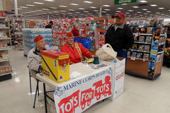 MAINE CORPS RESERVE FOR TOYS FOR TOTS Stock Photos