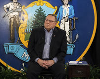 Maine Governor Paul LePage Photographie stock libre de droits