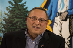 Maine Governor Paul LePage Images stock