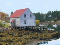 Maine hamn Arkivbilder