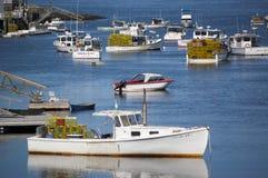 Maine Harbor Fotos de archivo libres de regalías