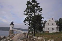 Maine house Stock Image