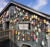 Maine-Hummerpfundbretterbude Stockbild
