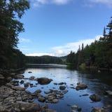 Maine i nedgången arkivfoton