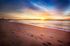 maine lato wschód słońca zdjęcie royalty free