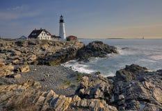 Maine-Leuchtturm Stockfotografie