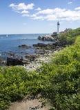Maine Lighthouse Stockfotografie