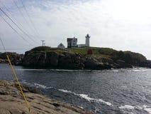 Maine lighthouse Royalty Free Stock Image