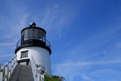 A maine lighthouse Royalty Free Stock Photography