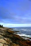 Maine linia brzegowa Zdjęcia Royalty Free