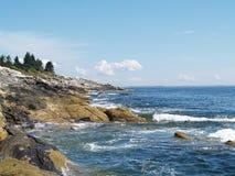 Maine linia brzegowa 001 Zdjęcie Royalty Free