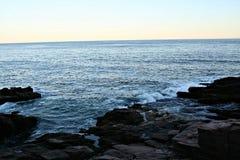 Maine-oceaan Royalty-vrije Stock Afbeeldingen