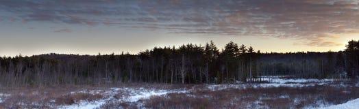 Maine panoramic Stock Photos