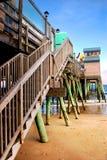 Maine plażowy stary sad Zdjęcia Stock