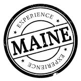 Maine rubber stamp Royalty Free Stock Image