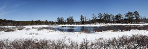 Maine rural image libre de droits