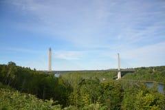 Maine rzeki most zdjęcia stock