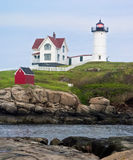 Maine's Nubble LIght Stock Photos
