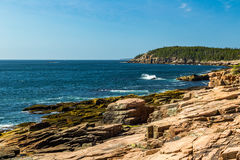 Maine ` s Rocky Coast Royaltyfria Bilder