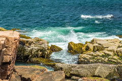 Maine-` s Rocky Coast Stockbild