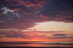 Maine soluppgång Royaltyfri Bild