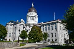 Maine State Capitol stockfotos