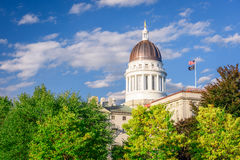 Maine State House. The Maine State House in Augusta, Maine, USA royalty free stock image