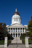 Maine State House Capitol Building. Is located in Augusta, ME, USA Royalty Free Stock Images