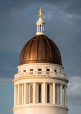 Maine State House Dome Stock Images