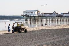 Maine-strand Royalty-vrije Stock Foto's