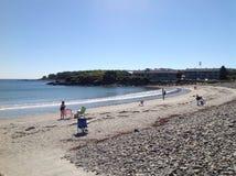 Maine strand Arkivbilder