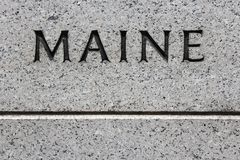 Maine Stock Images