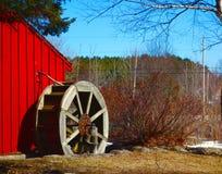 Maine wiejska droga w lecie Zdjęcia Royalty Free