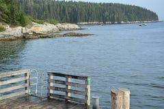 Maine wybrzeże Zdjęcie Royalty Free