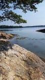 Maine wybrzeże obraz stock