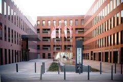 Mainforum Frankfurt Royalty Free Stock Photography