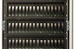 Mainframe of a server Stock Images