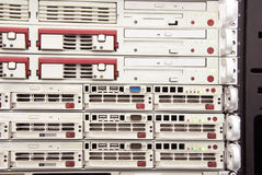 Mainframe servers Stock Image