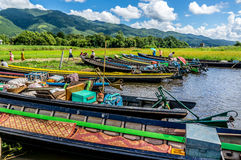Maing Thauk Royaltyfria Bilder