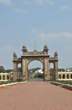 Maingate παλατιών του Mysore. Στοκ φωτογραφία με δικαίωμα ελεύθερης χρήσης