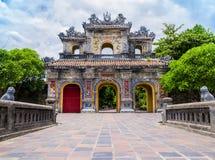 Maingate στην παλαιά ακρόπολη του χρώματος, Βιετνάμ Στοκ εικόνες με δικαίωμα ελεύθερης χρήσης
