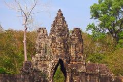 Maingate Thom Angkor στο ναό Bayon σύνθετο Στοκ εικόνα με δικαίωμα ελεύθερης χρήσης