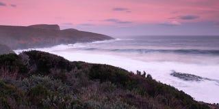 Maingon Bay at dusk. Beautiful Maingon Bay in Port Arthur at  dusk Royalty Free Stock Images