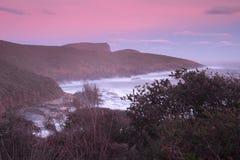 Maingon zatoka przy półmrokiem Fotografia Royalty Free