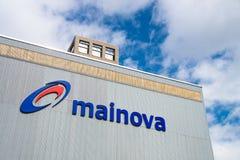 Mainova energy company, Germany Royalty Free Stock Images